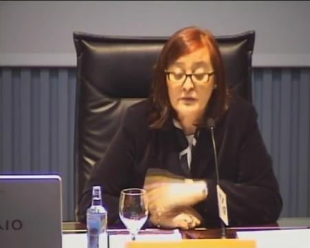 Ana Isabel Moreno Muela, vocal Primeira do Consello de Defensa da Competencia de Andalucía.